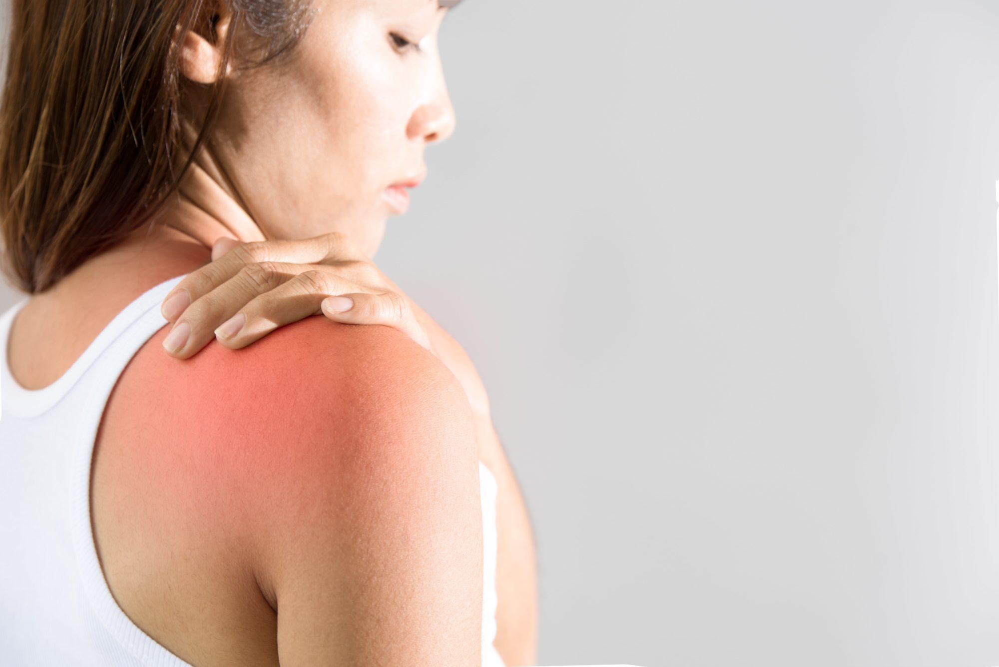 schouder pijn en schouder klachten behandelen in sport medisch centrum papendal