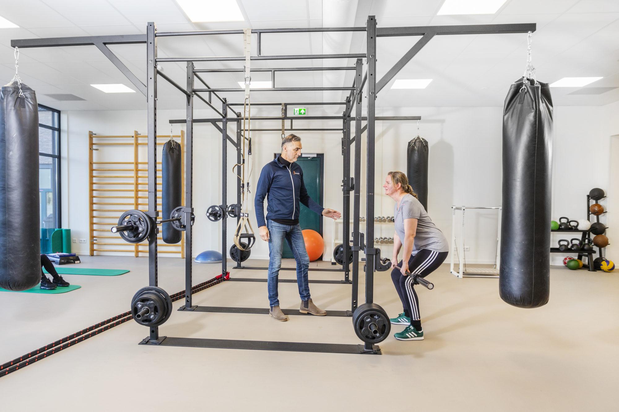 Oefentherapie - SMCP - Nijmegen - sportzaal - gewichten