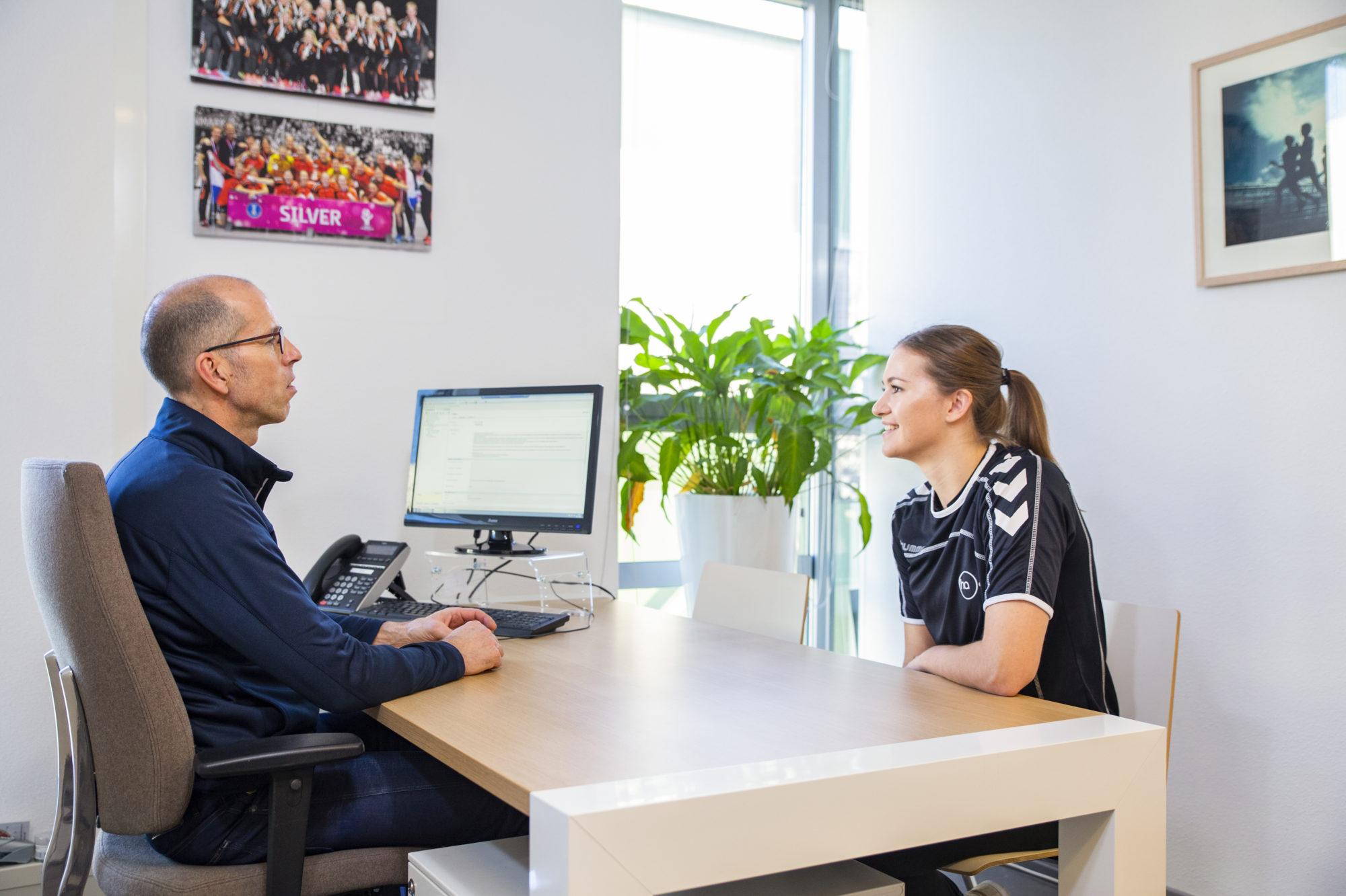 consult sportarts op sport medisch centrum papendal