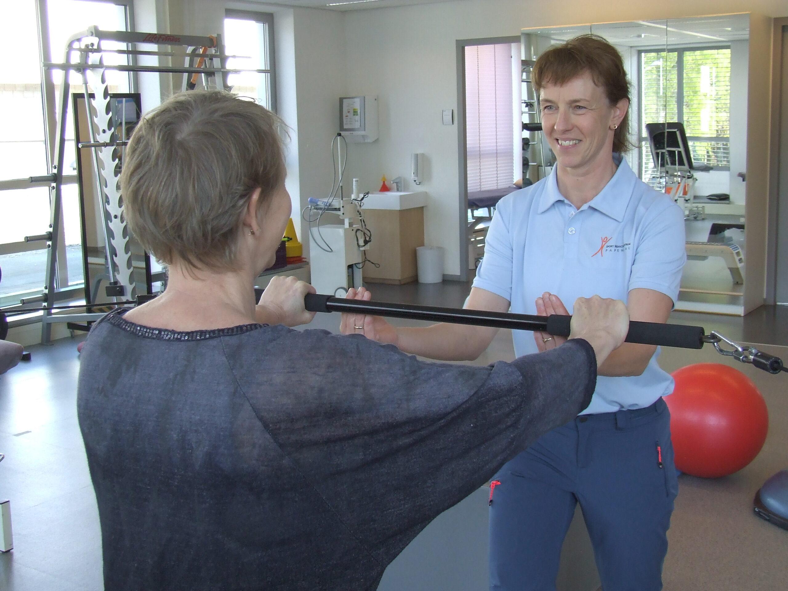 met personal training werken aan je fitheid en gezondheid op sport medisch centrum papendal