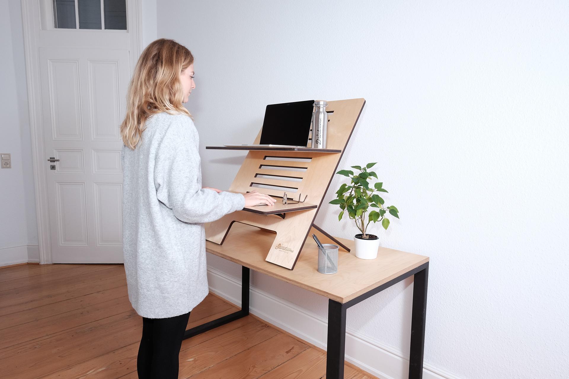 verminder klachten door een goede ergonomie van de werkplek en een optimale werkhouding