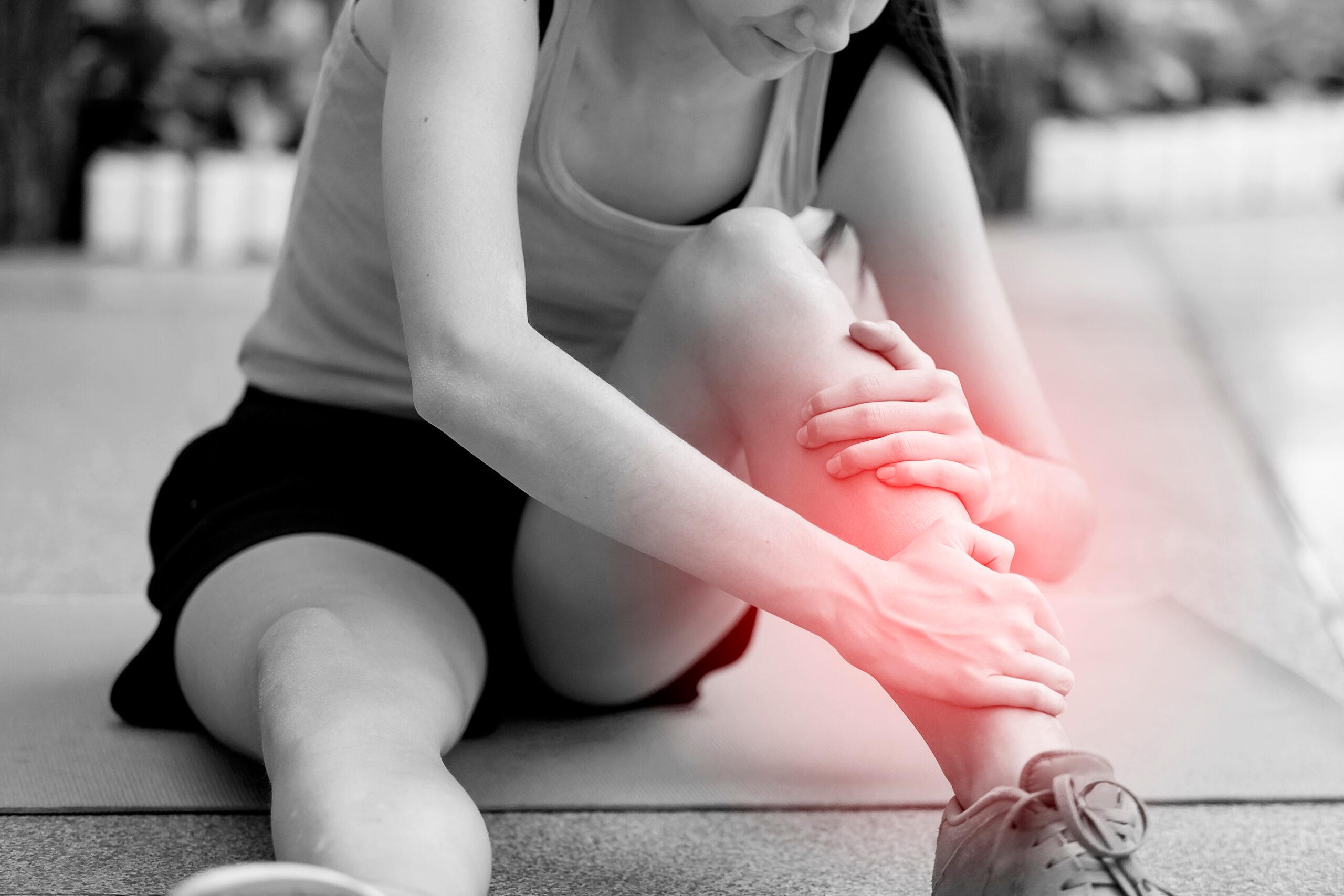 behandeling pijn aan het onderbeen door fysiotherapeut nijmegen van sport medisch centrum papendal